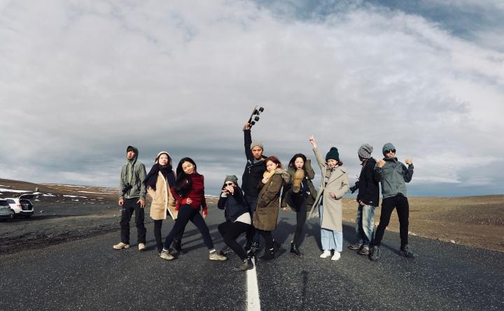 你們是我在冰島遇見的美好風景